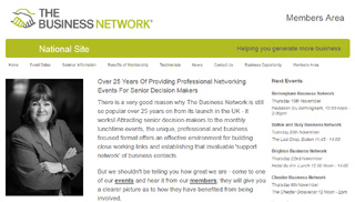 The Business Network web site